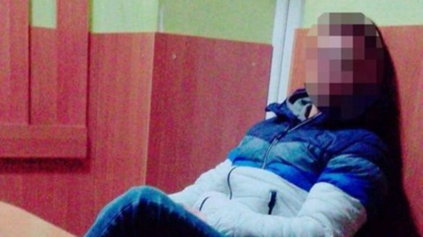 """Водитель """"бросил вызов"""" копам. Фото: патрульная полиция Тернополя"""