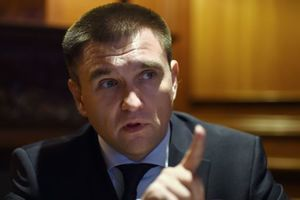 Klimkin auf der Konferenz der Vereinten Nationen forderte, den Druck auf Russland wegen der Besetzung der Krim