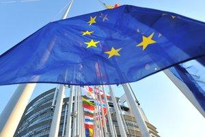 Die Europäische Kommission stellt dem europäischen Parlament das Weißbuch über die Zukunft der europäischen Union