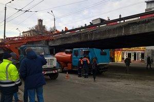 Обрушение Шулявского путепровода: новый мост появится через два года