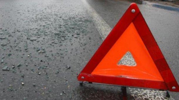 Возмущенные люди перекрыли дорогу Харьков-Симферополь