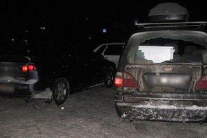 В Хмельницкой области со стрельбой преследовали авто с молодоженами