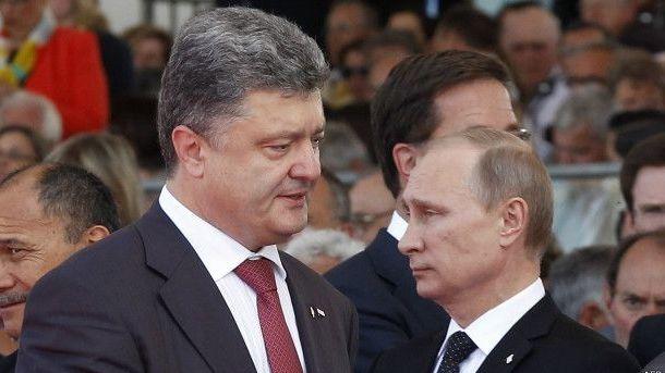 СМИ посчитали время телефонных звонков Порошенко и Владимира Путина всамом начале года
