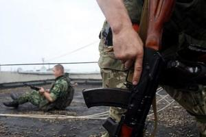 В Славянске боевик сдался полиции
