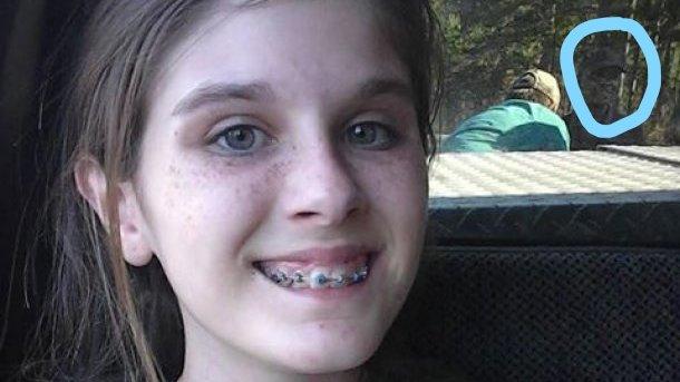 Странный призрак населфи школьницы вызвал споры вглобальной сети