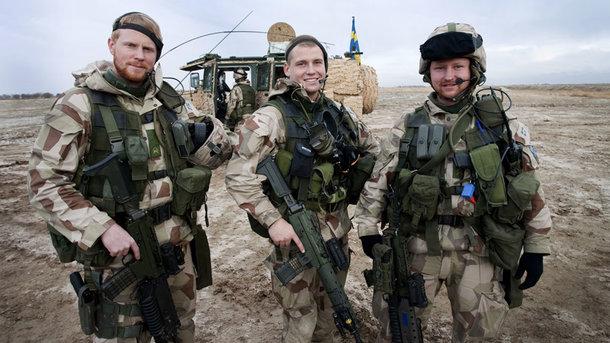Швеция возобновляет обязательный призыв вармию, испугавшись Российской Федерации