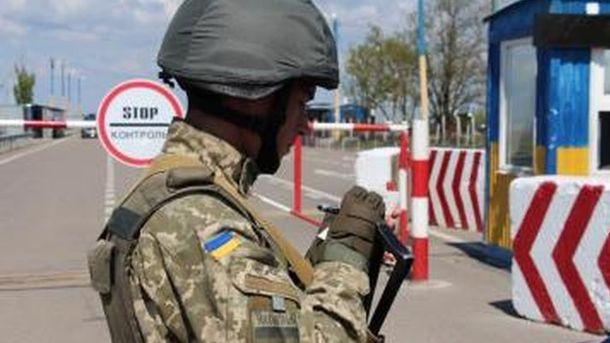 Впроцессе обстрела КПВВ «Марьинка» ранение получил пограничник