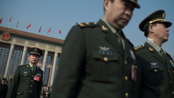 Военные расходы Китая впервый раз превысят триллион юаней