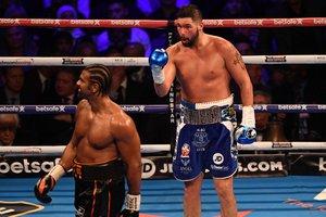 Победивший Хэя боксер Тони Белью может остаться в супертяжелом весе
