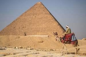 Египетские пирамиды сфотографировали с борта МКС