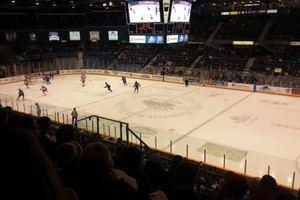 В Канаде хоккеисты устроили массовую драку с болельщиками