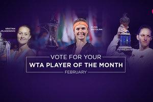 Лучшая теннисистка Украины Свитолина претендует на две награды WTA