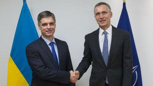 МИД: НАТО называет Российскую Федерацию виновной вситуации вгосударстве Украина