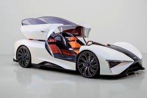 Китайцы показали гибридный суперкар с шестью моторами