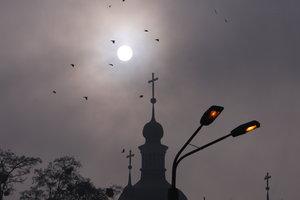 Синоптики объяснили, откуда взялся туман в Киеве