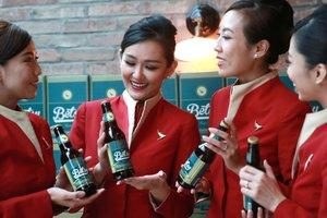 """Китайцы выпустили первое в мире """"высотное"""" пиво для употребления в воздухе"""
