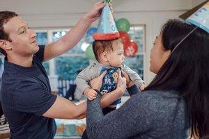Основатель Facebook Марк Цукерберг во второй раз станет отцом
