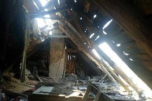 Боевики разрушили дома мирных жителей Донбасса