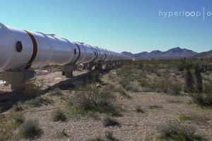 Hyperloop Илона Маска: в США построили часть пути для сверхбыстрого транспорта будущего