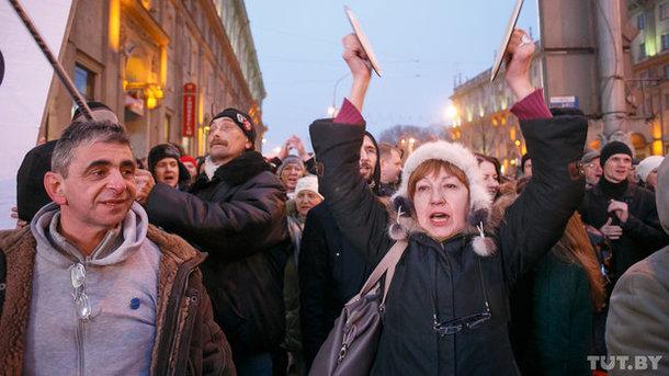 В Белоруссии арестовали лидеров оппозиции после «Марша нетунеядцев»