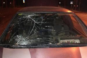 Под Киевом Ford сбил пьяного пешехода на переходе
