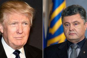 Украина попытается опередить РФ и организовать встречу Трампа с Порошенко раньше, чем с Путиным