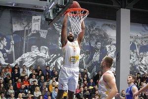 Матч звезд украинской баскетбольной Суперлиги завершился со счетом 133:141
