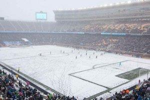 Самый холодный матч в истории МЛС собрал на трибунах 35 тысяч болельщиков