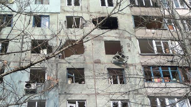 Ранена волонтер— Обстрел Авдеевки