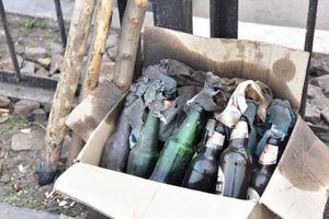 В МВД показали изъятое в Кривом Торце оружие и боеприпасы