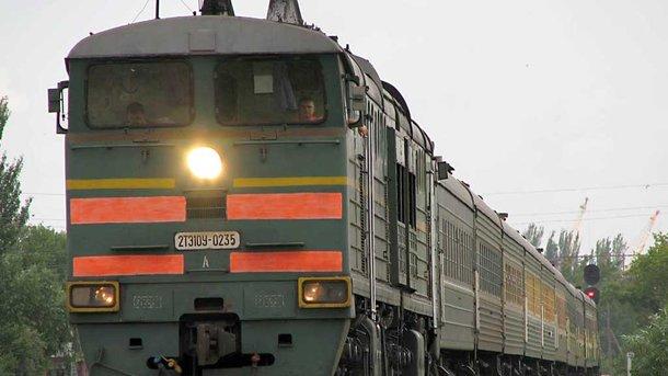Украинские радикалы разграбили тепловоз наДонбассе