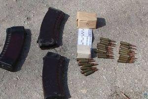 В Запорожской области полиция изъяла боеприпасы у самовольно покинувшего воинскую часть военного