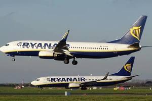 Первый самолет Ryanair совершил посадку в украинском аэропорту