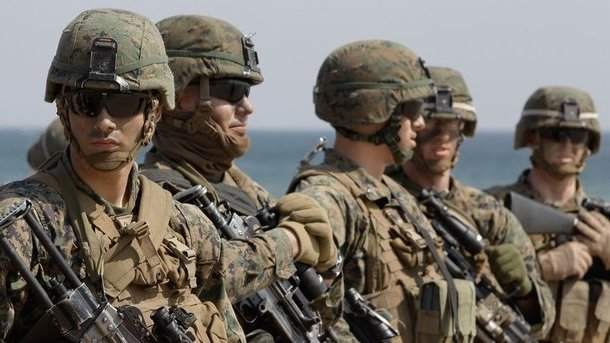 Морская пехота США, фото mos7.ru