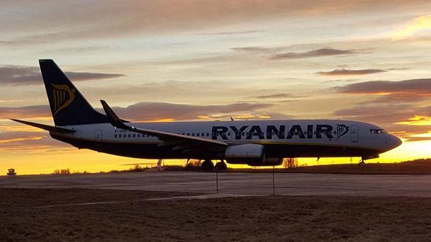 Ryanair будет выполнять рейсы из украинской столицы почетырем направлениям