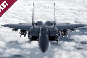 Американский боевой истребитель F-15 переродился в новом качестве