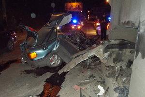 Смертельное ДТП в Херсоне: водитель на скорости 120 км/ч протаранил опору моста