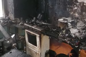 Ребенок погиб в огне в Кривом Роге