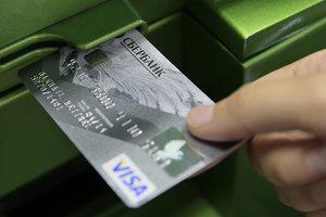Сбербанк России заблокировал кредитки украинцев