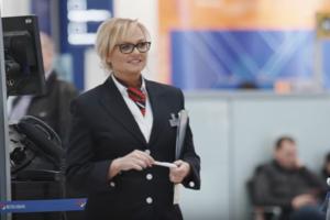Участница Spice Girls разыграла пассажиров в аэропорту