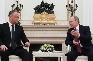 Додон опять летит к Путину