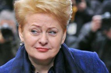 Грибаускайте предложила перенести штабы НАТО к границам РФ