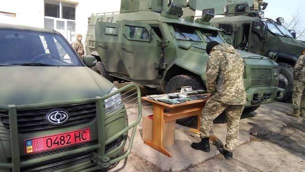 Вгосударстве Украина показали новые автомобили для военных