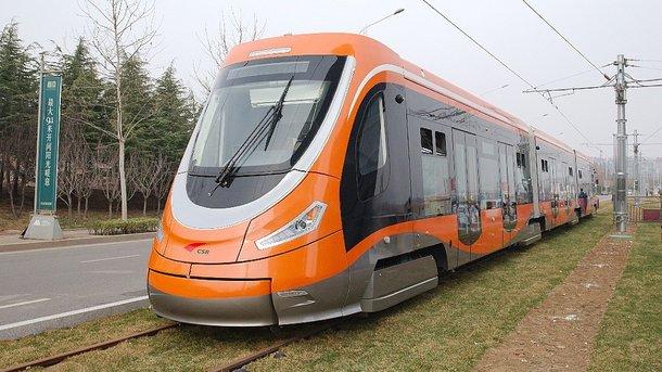 Китайцы переходят на водородные трамваи - Фото