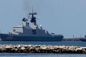 Французский ракетный фрегат-невидимка вошел в Черное море