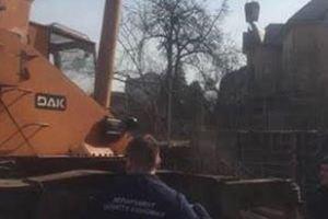 В центре Киева остановили незаконное строительство многоэтажки