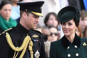 Кейт Миддлтон и принц Уильям посетили парад в честь Дня святого Патрика