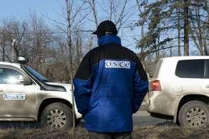 Возле Ясиноватой наблюдатели ОБСЕ попали под обстрел