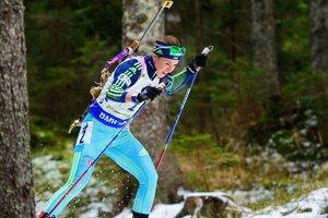 Юлия Джима стала десятой в масс-старте на этапе Кубка мира по биатлону в Холменколлене