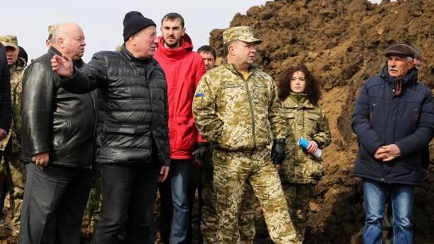 ВУкраинском государстве строят военный объект за370 млн.